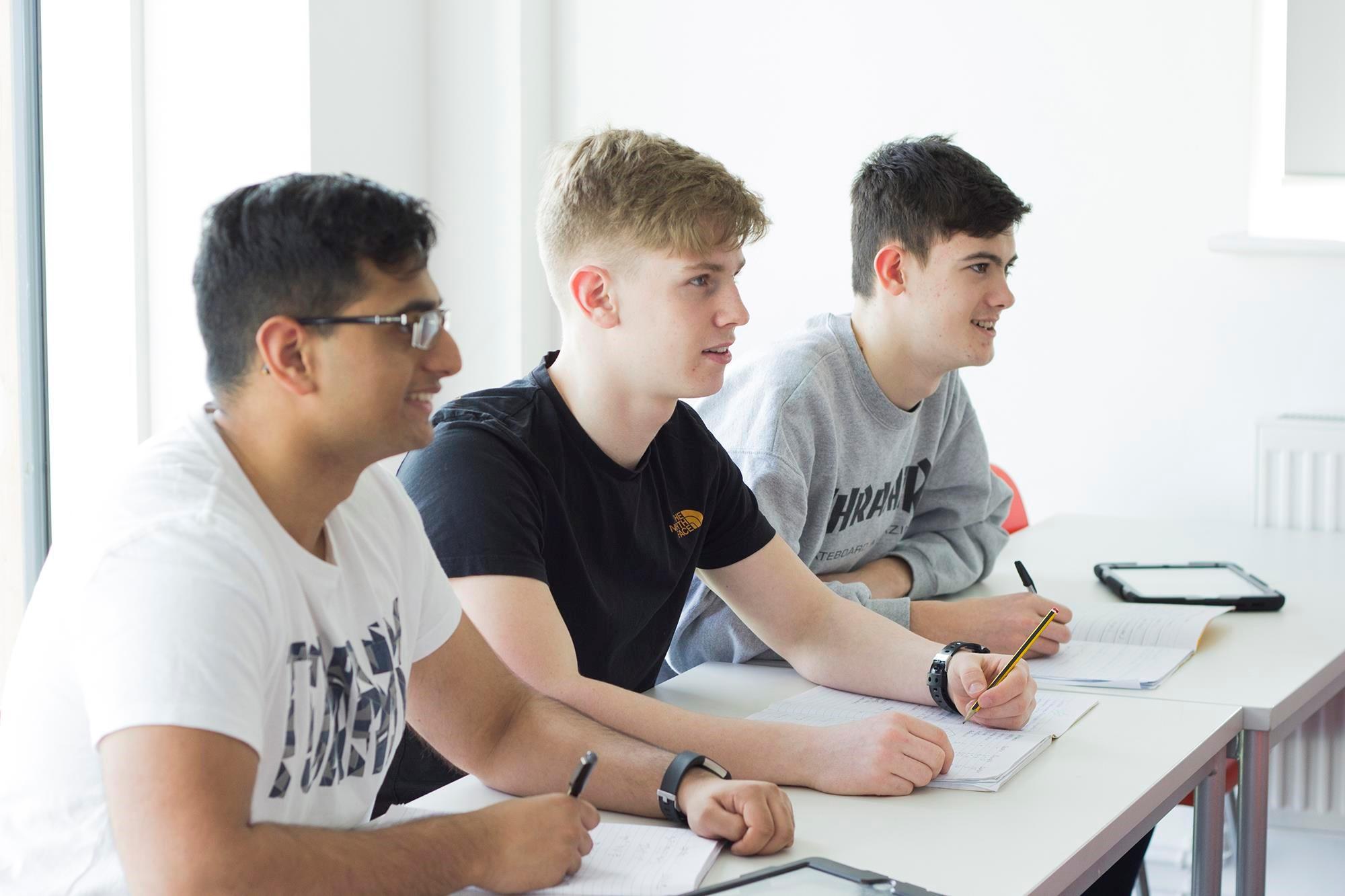 Futura Sixth Students Academic